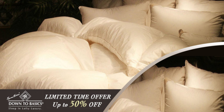 siberian goose down pillows on sale