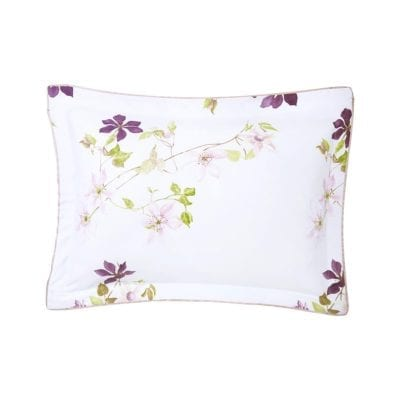 Clematis Bed Collection Sham